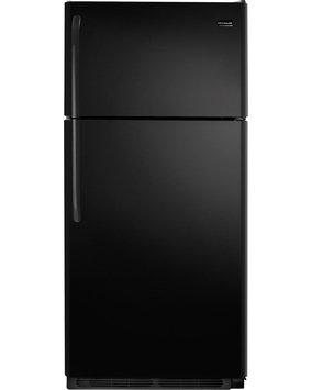 Frigidaire Refrigerator. 18 cu. ft. Top Freezer Refrigerator in Black FFHT1821QB