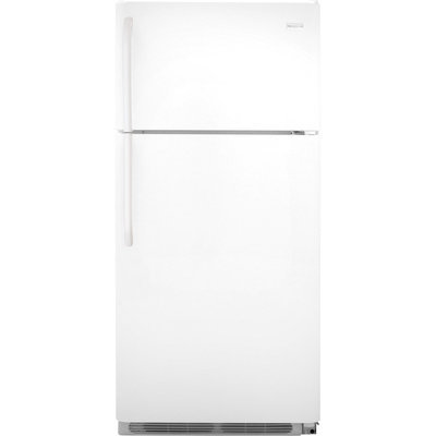 Frigidaire Refrigerator. 18 cu. ft. Top Freezer Refrigerator in White FFTR1821QW
