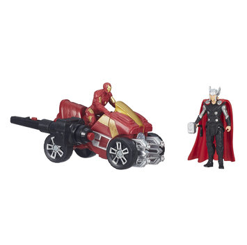 Marvel Entertainment Group Marvel Comics Avengers Age of Ultron Thor and Iron Man Figures with Arc ATV Vehicle - HASBRO, INC.