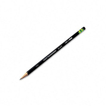 Dixon Ticonderoga Pencils, #2 Soft Lead, Black, Dozen