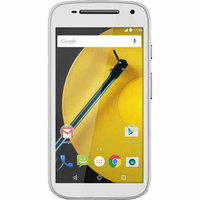 Sprint Prepaid - Motorola Moto E 4g With 8GB Memory No-contract Cell Phone - Black