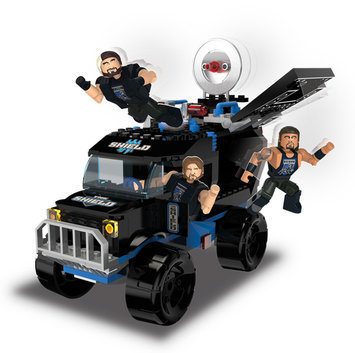 WWE Stackdown The Shield SWAT Truck - recaro north