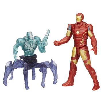 Marvel Entertainment Group Marvel Comics Avengers Age of Ultron Iron Man Mark 43 Vs. Sub Ultron 001 Figure Pack - HASBRO, INC.