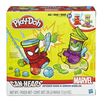 Hasbro Marvel Can-Heads Featuring Spider-Man and Green Goblin