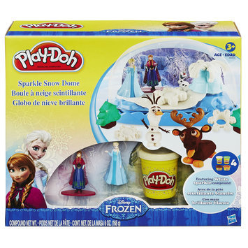 Disney's Frozen Play-Doh Sparkle Snow Dome by Hasbro