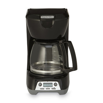 Proctor-Silex Digital 12-Cup Coffeemaker Black