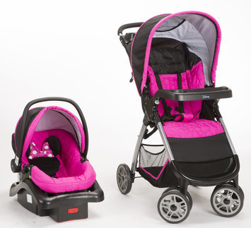 Dorel Juvenile Minnie Pop Travel System