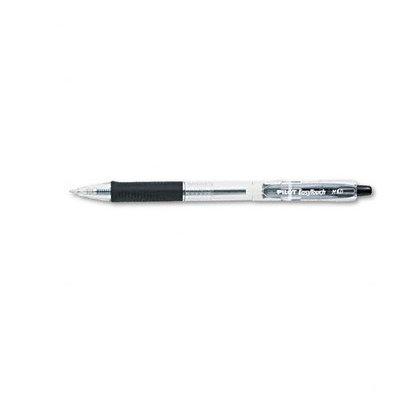 PILOT PIL32220 Ballpoint Pen, Retractable, Med, Blk, PK12