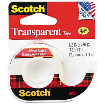 Kmart.com Transparent Glossy Tape In Hand Dispensers
