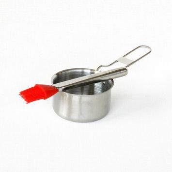 Kenmore Sauce Pot and Basting Brush - TAIWAN NAN SHAN BAMBOO WARE CO