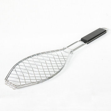 Kenmore Chrome Fish Grilling Basket - TAIWAN NAN SHAN BAMBOO WARE CO
