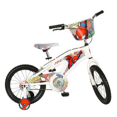 Street Flyers 16 inch Boy's Spider-Man Bike - White