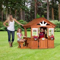 Backyard Leisure Backyard Discovery Scenic Cedar Play House