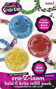 Cra-z-art Cra-Z-Loom Bold & Bright Band Refill - English Edition