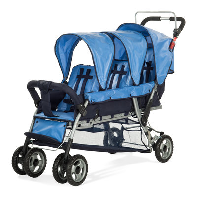 Sierra Accessories Child Craft Sport Triple Stroller Blue