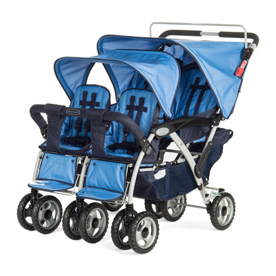Sierra Accessories Child Craft Sport Quad Stroller Blue