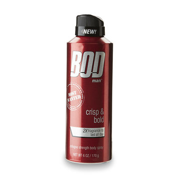 BOD Man Men's Most Wanted 6 Ounce Body Spray - PARFUMS DE COEUR