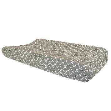 Trend Lab Llc Trend Lab Paloma Gray Diamond Changing Pad Cover
