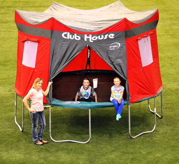 Propel Trampolines 12' Trampoline Clubhouse Tent Accessory Kit Red - HARVEST TIME CHURCH