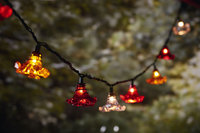 10Ct. String Lights- Flowers