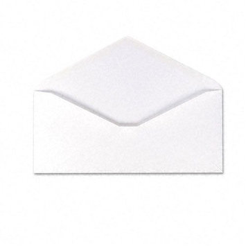 AMPAD Corporation Envirotech Recycled Business Envelope, V-Flap, #10, 500/Box