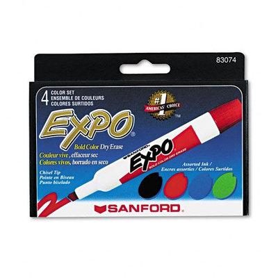 Kmart.com EXPO Dry Erase Markers, Chisel Tip, Assorted, 4/Set