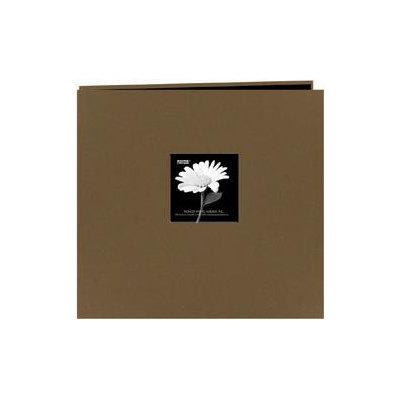 Pioneer Fabric Frame 12x12 Scrapbook Album - Warm Mocha