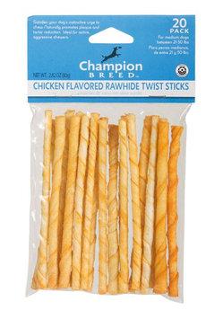 Kmart Corporation Chicken Flavored Rawhide Twist Sticks 20-Pack