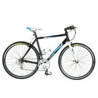 Tour De France Packleader Elite Bike Black/Blue 49cm