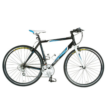 Tour De France Packleader Elite Bike Black/Blue 49cm