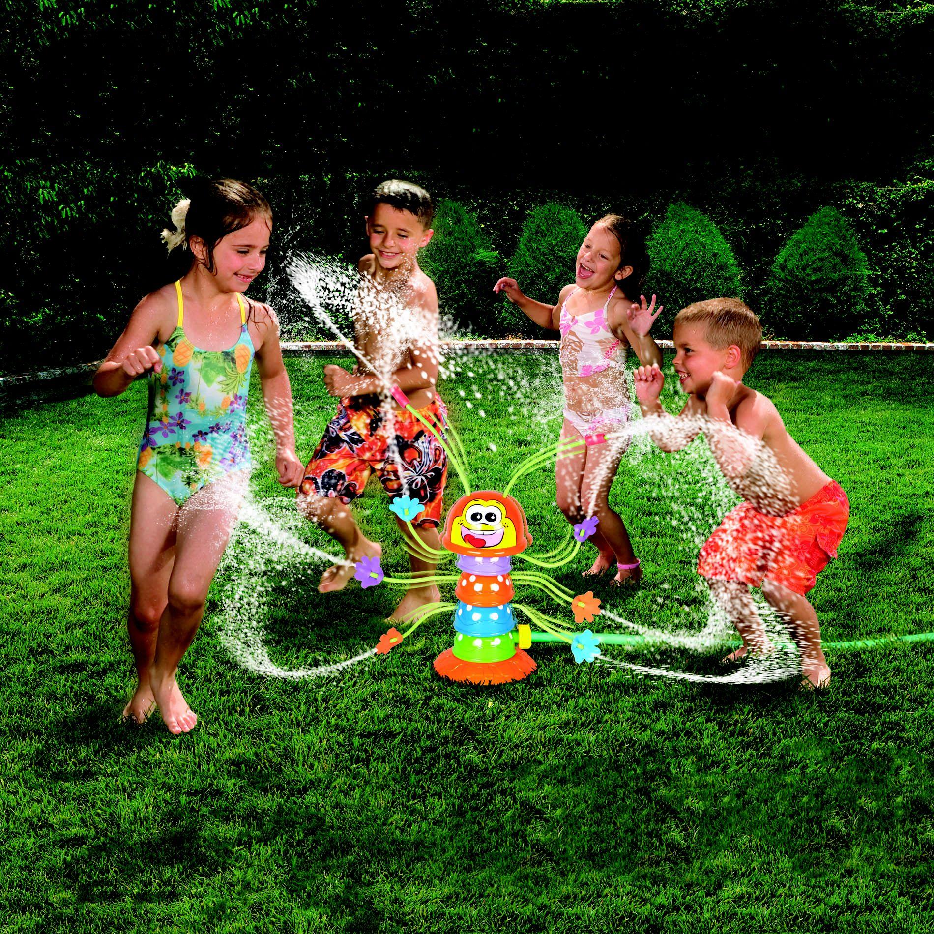 Manley Toys u.s.a., Ltd Banzai Wiggling Waterpillar Sprinkler - MANLEY TOYS USA LTD.