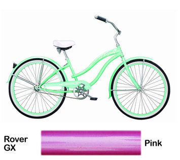 Micargi Pink Rover GX Beach Cruiser Female