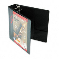 Cardinal 10321 Recycled ClearVue EasyOpen Vinyl D-Ring Presentation Binder, 2