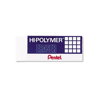 Pentel Block Eraser (White) [PK/3]. Model: PENZEH10BP3K6