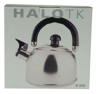 Copco Halo Brushed Stainless Steel Tea Kettle - ROWOCO INC