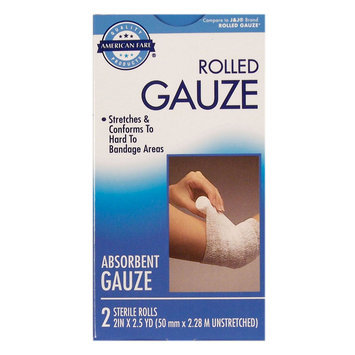 Kmart Corporation Roll Gauze Bandage - 2 pack