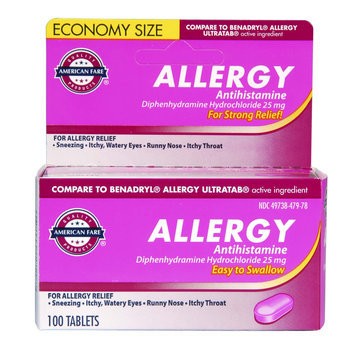 Allergy Tablets 100 Count - American Fare