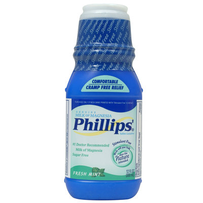 Phillips Milk Of Magnesia Liquid 12 Fluid Ounce - Phillips