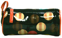 Markwins Beauty Cylinder Spheres Cosmetic Bag W/Mirror