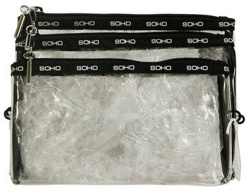 Markwins 3pc Mini Cosmetic Bag Set