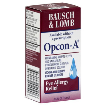 Bausch & Lomb Opcon-A Eye Allergy Relief