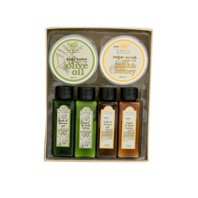 Elegant Home Designs Image Essentials Combo Gift Pack - Milk, Honey and Olive Oil