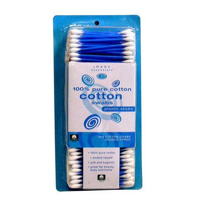 Kmart Corporation Cotton Swabs 500 Count Plastic Blue