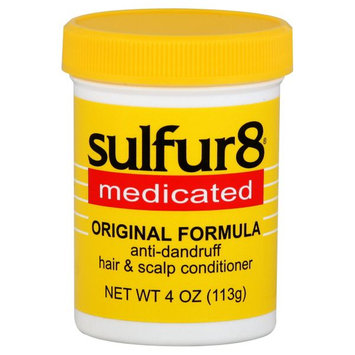 Sulfur8 Hair & Scalp Conditioner, Anti Dandruff, Medicated, 4 oz (113 g) - SCHERING-PLOUGH HEALTHCARE PRODUCTS