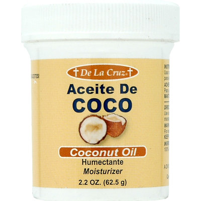 De La Cruz Products Inc De La Cruz Aceite De Coco Humectante Coconut 2.2 Ounce Jar