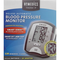 Deluxe Automatic Blood Pressure Monitor With Smart Sense - HOMEDICS INC.