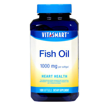 Vitasmart Fish Oil Heart Health Dietary Supplement 1000mg Softgels 120 Count - KMART CORPORATION