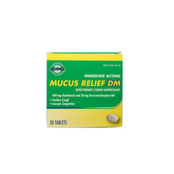 American Fare Mucus Relief Expectorant Cough Suppressant Tablets 30 Count - KMART CORPORATION
