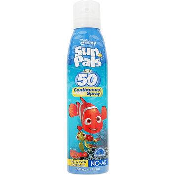 Solar Suntan Products Corp Disney Sun Pals Nemo Aerosol Continuous Spray SPF 50 6 Fluid Ounce Can