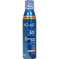 Solar Suntan Products Corp Sport Sun Protection Aerosol Continuous Spray SPF 30 8 Fluid Ounce Can